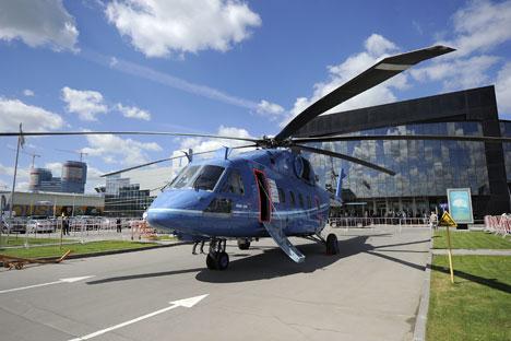 Многоцелеви хеликоптер Ми-38 излиза на пазара