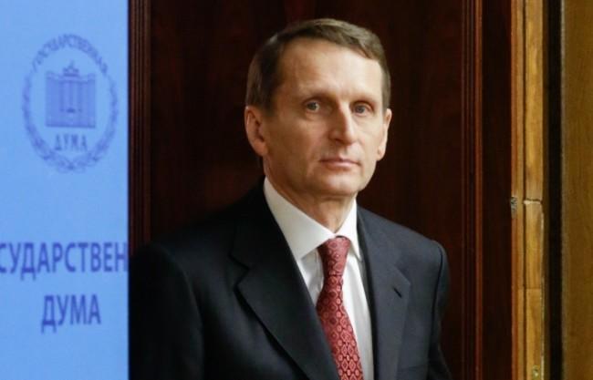 Наришкин предложи на ЕС да въведе санкции срещу Киев заради провала на Минските споразумения