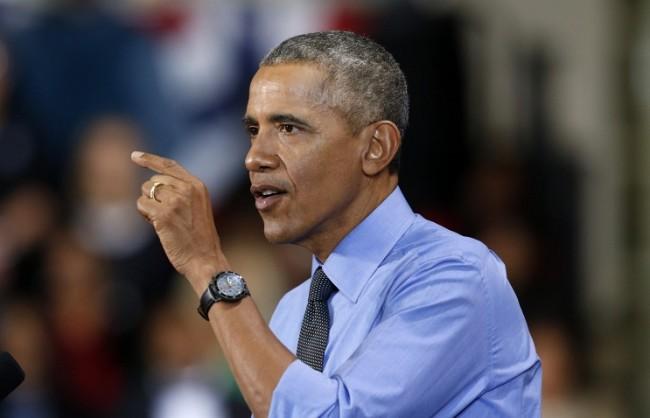 Държавният департамент осъди появата на плакат на Обама пред посолството в Москва