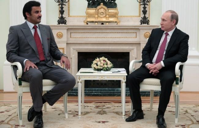 Путин: Русия разчита на съгласуване на позициите с Катар по енергийните въпроси, особено в газовата сфера