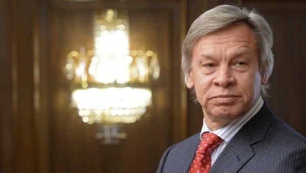 Пушков се пошегува с присъствието на Порошенко на икономическия форум в Давос