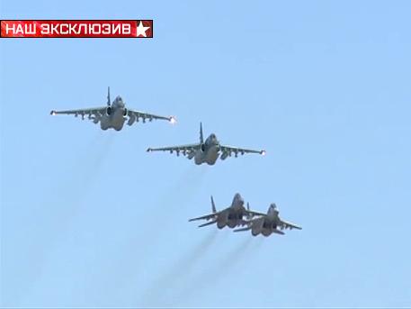 Сирийски МиГ-ове за първи път прикриват руски щурмоваци в Сирия