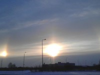Три слънца изгряха над Петербург
