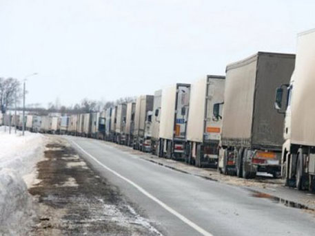 Украйна не пуска в Молдова камиони с руски стоки