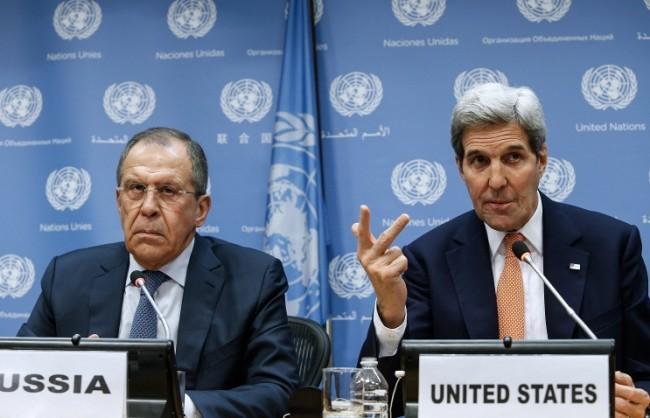 Лавров и Кери обсъдиха изпълняването на примирието в Сирия и подготовката на резолюция на ООН за Северна Корея