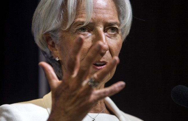 Лагард: Украйна рискува да остане без подкрепата на МВФ