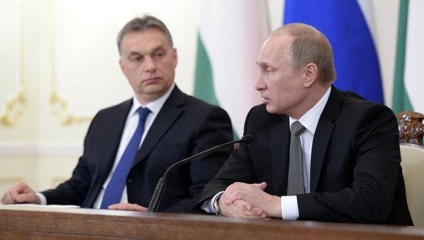 Путин е доволен от качеството на отношенията с Унгария