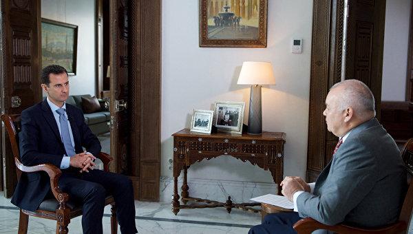 Асад: Сирия се нуждае от руското военно присъствие