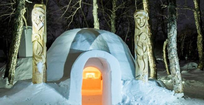 В Русия отвори врати първият хотел от сняг