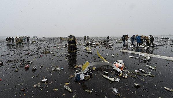 Появи се ново видео от катастрофата в Ростов на Дон
