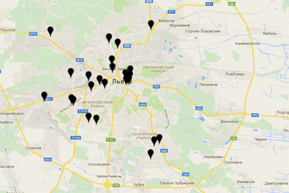 """В Лвов създадоха """"черна карта"""" на ресторантите с руска музика"""