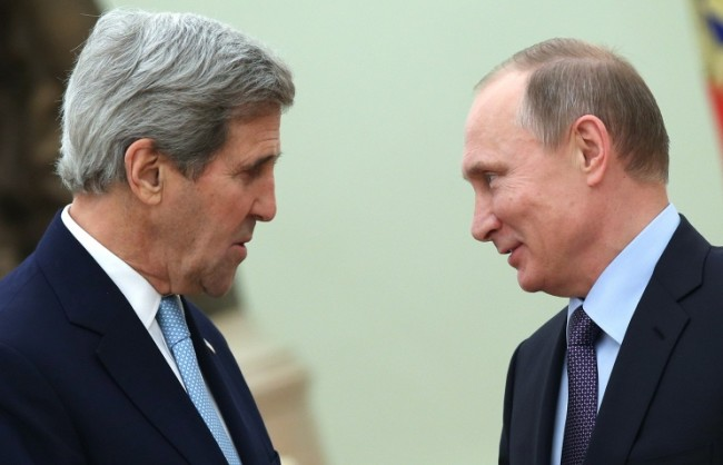Кремъл потвърди: Срещата между Путин и Кери ще се проведе на 23 март