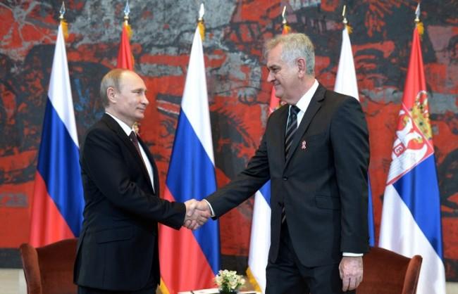 Путин ще се срещне със сръбския президент на 10 март в Москва