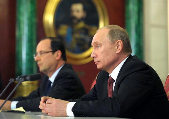 Съветник на Саркози: Във Франция Путин е по-популярен от Оланд