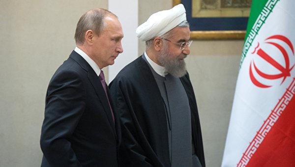 Путин обсъди с Рухани успешните действия на сирийската армия, прогонила терористите от Палмира