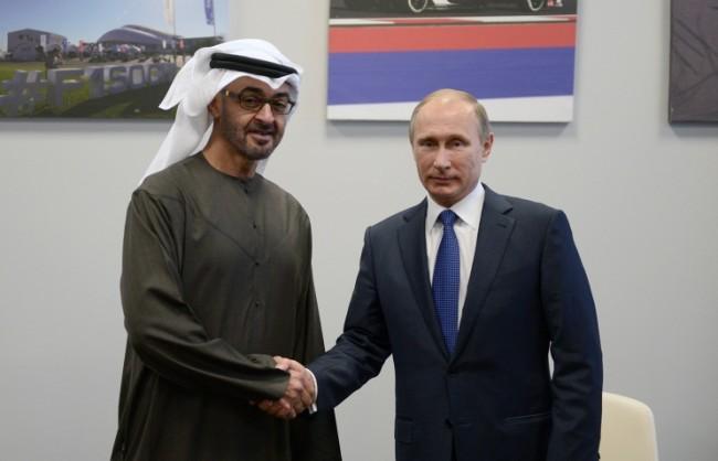 Путин ще обсъди с престолонаследника на Абу Даби разрешаването на кризата в Сирия