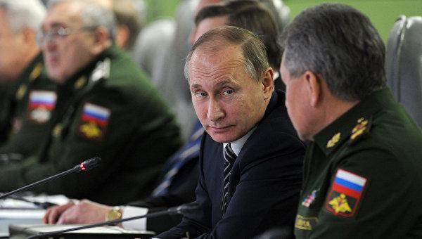 Путин: Операцията в Сирия се превърна в сериозен изпит за военната техника