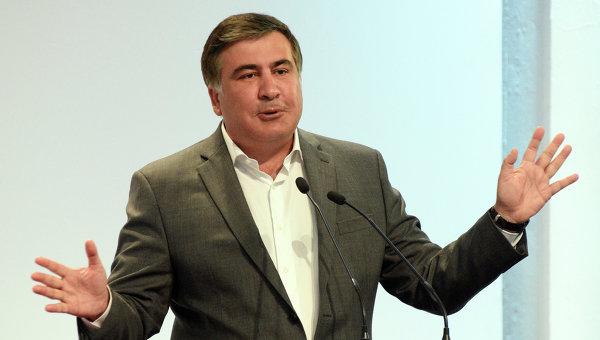 Дрескодът на Саакашвили:  Губернаторът на Одеса с панталон в чорапите