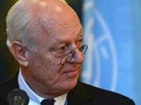 Стефан де Мистура: Изтеглянето на руските войски ще се отрази положително на преговорите за Сирия