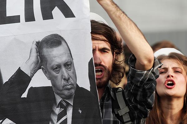 Ятаганите на Ердоган