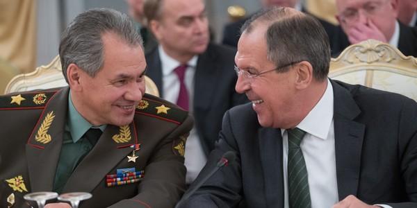 Шойгу и Лавров са най-известните руски министри