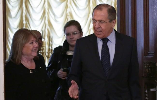 Лавров: Москва приветства желанието на Аржентина за развитие на отношенията с Русия