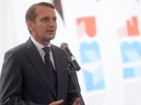 Наришкин: Миграционната криза в Европа е породена от безотговорната политика на САЩ