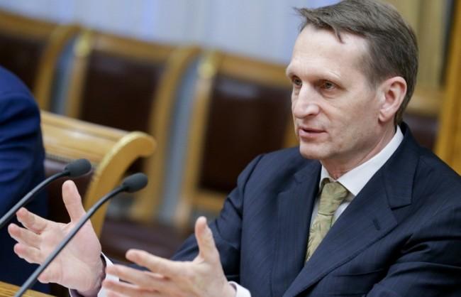 Наришкин не изключва в Украйна да започнат да горят забранените книги, като в Третия райх