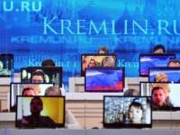 """Кои са най-популярните въпроси към Путин в предаването """"Пряка линия"""""""