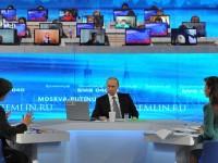 """Путин за 14-ти път ще проведе традиционната """"Пряка линия"""" с руските граждани"""