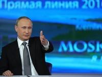 """Болшинството от руснаците доволни от отговорите на Путин в """"Пряка линия"""""""