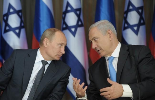 Путин и Нетаняху ще обсъдят кризата в Сирия и перспективите за регулирането на израелско-палестинския конфликт