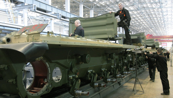 Русия заема 70 % от световното танкостроене