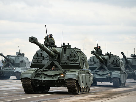 САУ «Мста-С» и «Коалиция»
