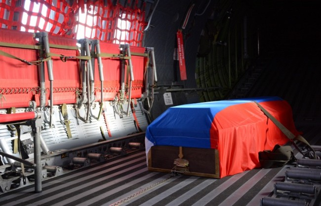 Тялото на геройски загиналия в Сирия руски офицер ще бъде върнато в Русия през май