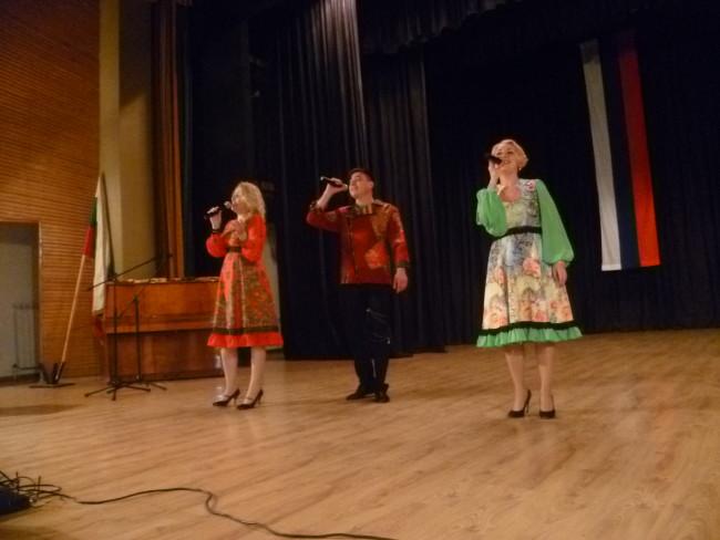 """Първият концерт на руския ансамбъл """"ПИР"""" в България се състоя н курортния град Сапарева баня"""