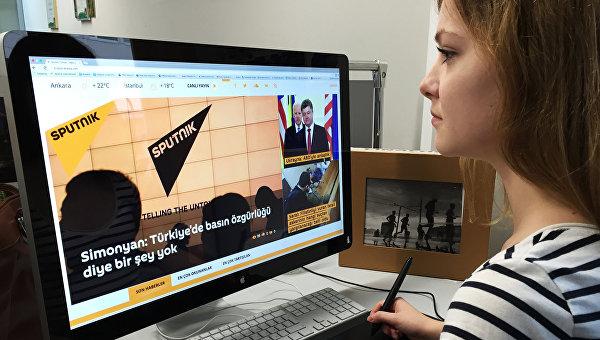 """Турските власти блокираха сайта на Sputnik след излъчването на """"Пряка линия"""" с Путин"""