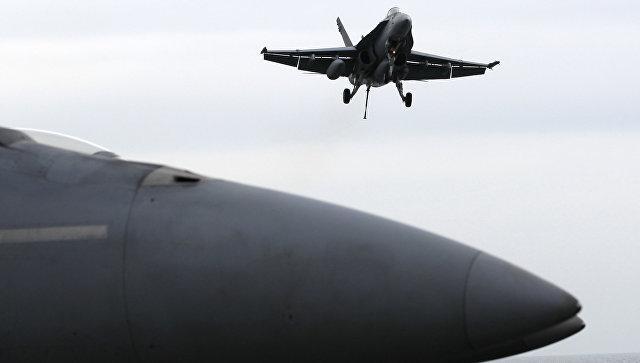 Два американски F-18 се сблъскаха над крайбрежието на САЩ