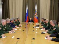 Путин: До края на 2016 г. нивото на превъоръжаване на армията и флота ще достигне 50 %