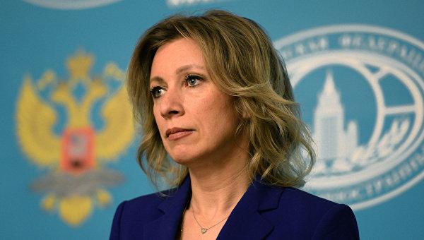 Захарова се пошегува с изказването на Порошенко за мощта на украинската армия