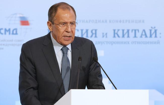 Лавров: Русия и Китай се обявяват против диктатурата и санкциите в международните отношения