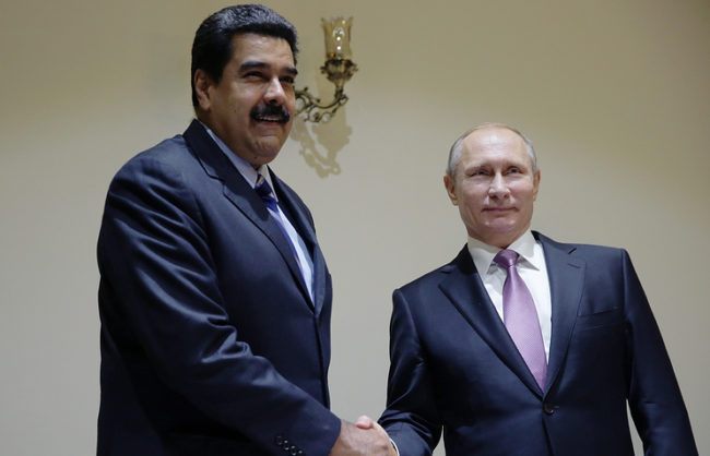 Мадуро нарече Путин лидер на нова историческа епоха