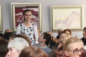 Презентацията на Теодора Маринова бе бурно аплодирана
