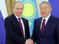 Путин благодари на Назарбаев за решението да проведе Деня на Победата в Москва