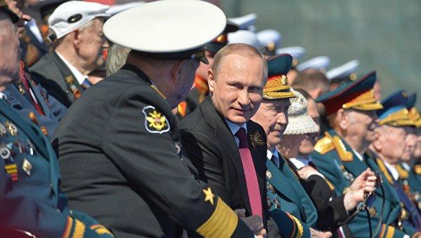 Путин обеща на ветераните, че Русия винаги ще помни подвига на победата