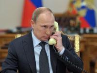 Путин обсъди ситуацията в Украйна с Меркел, Оланд и Порошенко