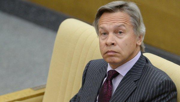 Пушков посъветва Саманта Пауър да мисли за въздушните удари срещу болниците, а на за Крим