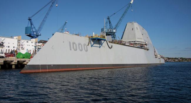 Руски специалисти: Най-новият американски военен кораб не е боеспособен