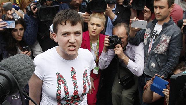 Савченко след помилването: Ще изпия два литра водка!