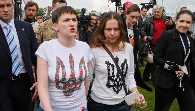 В Украйна предлагат Савченко за министър на отбраната